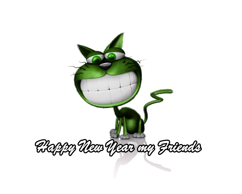 1000x800 30 Happy New Year 2018 Cute Cartoon Pictures For Kids