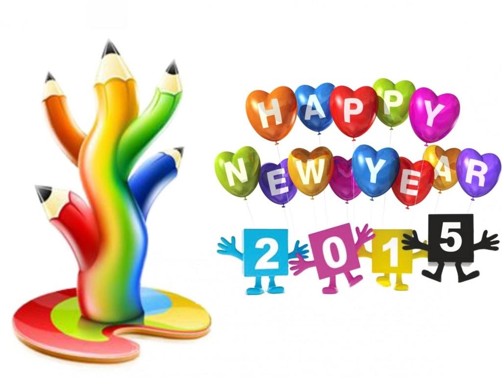 1024x768 60 Exquisite Happy New Year Wallpaper 2015