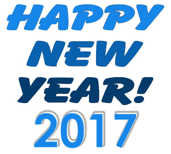 600x541 Happy New Year 2017 Clipart Images Free Download