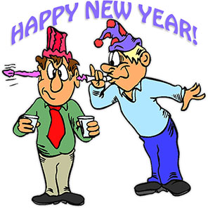 296x296 New Year Clipart Fun