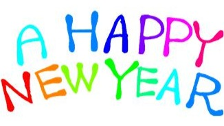 326x184 Free Happy New Year Coloring Pages