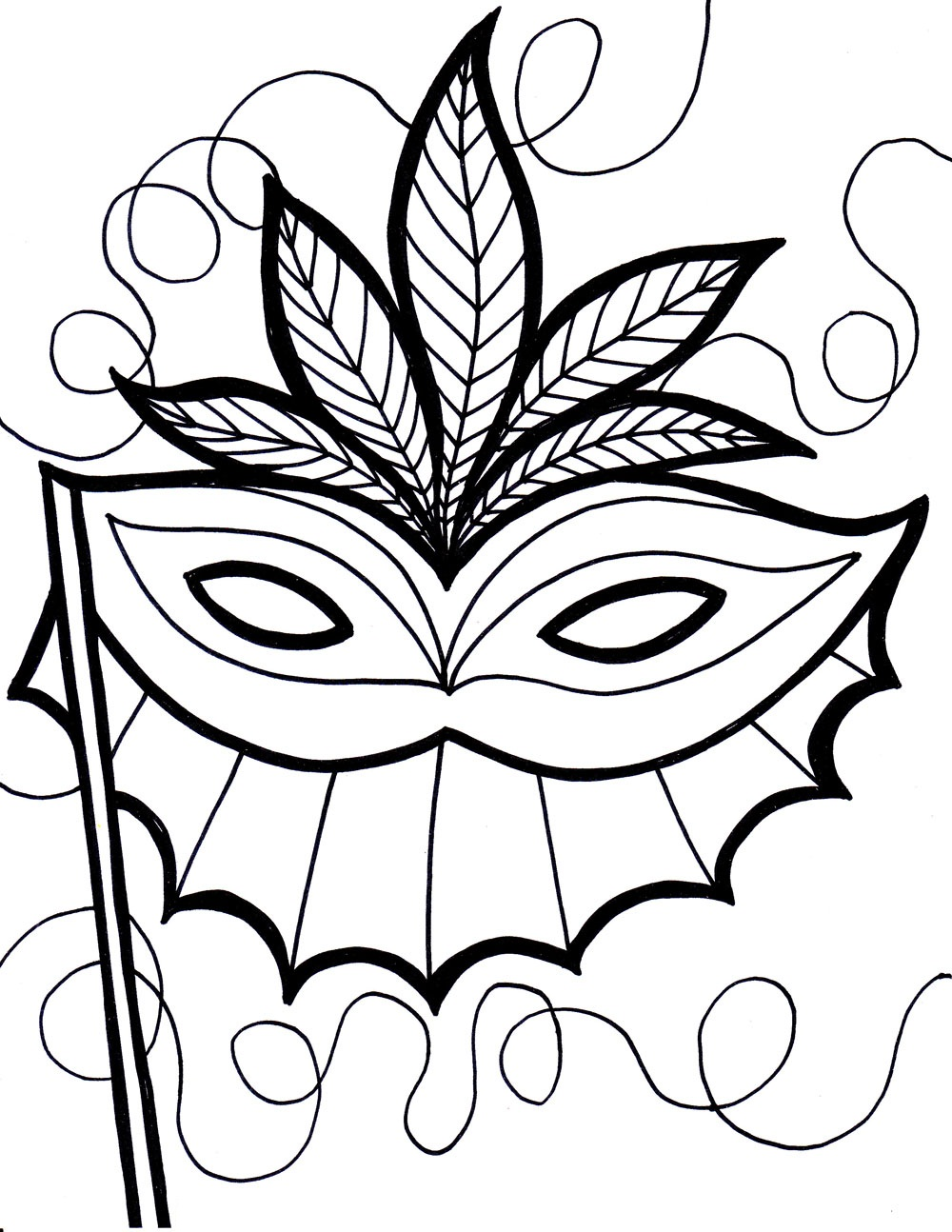 1000x1294 Happy New Year Coloring Page Coloring Print Colouring In Funny