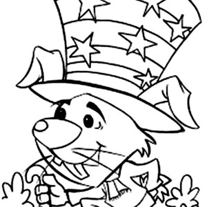 300x300 Happy New Years To All Says The Women Coloring Page