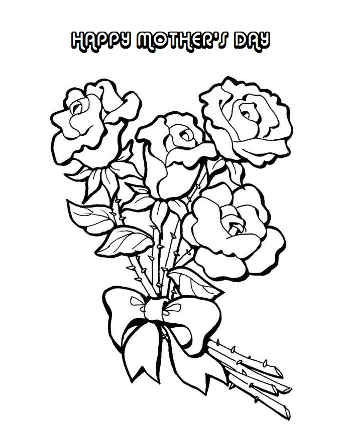 685x874 Mother's Day Coloring Pages