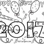 150x150 New Years Coloring Pages Kids Iphone Coloring New Years