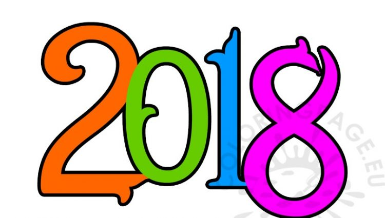 750x425 Happy New Year 2018 Free Clip Arthappy New Year 2018 Clipart