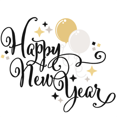 400x400 Happy New Year Balloons Transparent Png