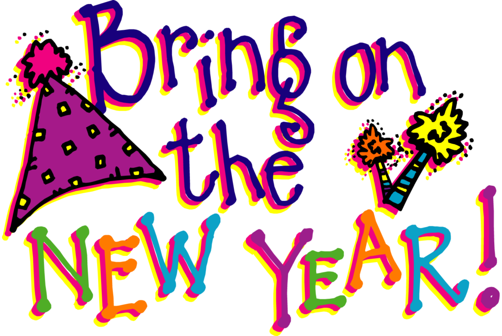 1024x687 Happy New Year Clipart 2018, New Year Clip Art Free Download