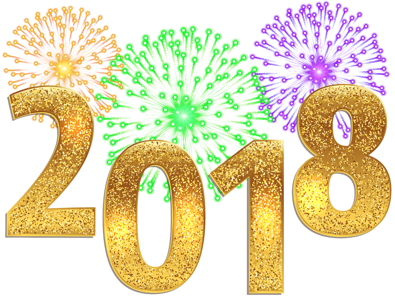 1280x1000 Happy New Year Png 2018 By (22)