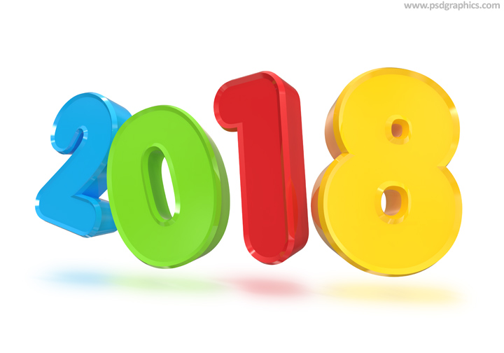 720x504 Happy New Year 2018 3d Png Hd Pictures Messages New Year 2018 Sms