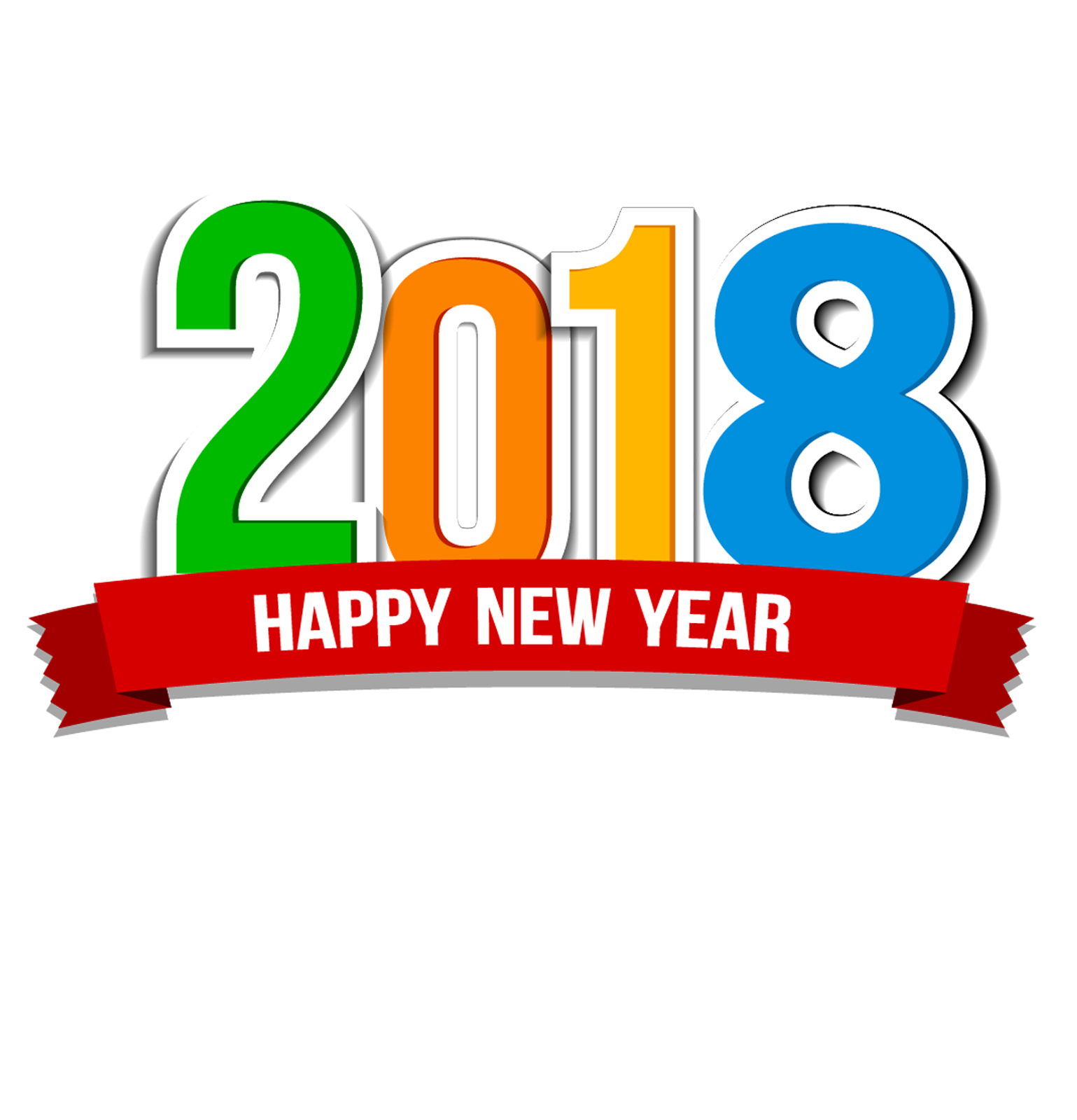 1539x1600 2018 New Year Backgrounds 2 Amp Pngs 2018, Happy New Year Text Png