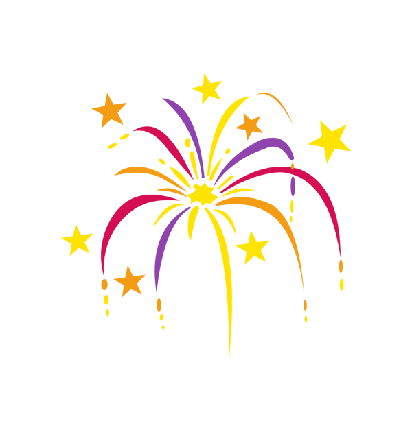 600x630 Clipart Happy New Year Celebration Big Image