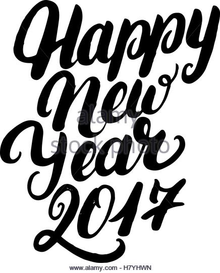 436x540 Happy New Year 2017 Black And White Stock Photos Amp Images