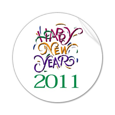 400x400 2011 New Year's Clip Art Cliparts