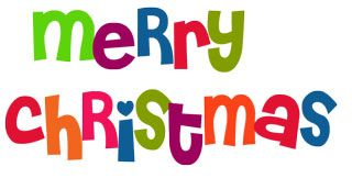 320x162 Merry Christmas And Happy New Year Clipart Happy Holidays!