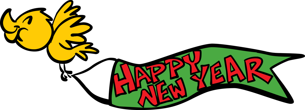 1196x433 New Year Clipart Banner