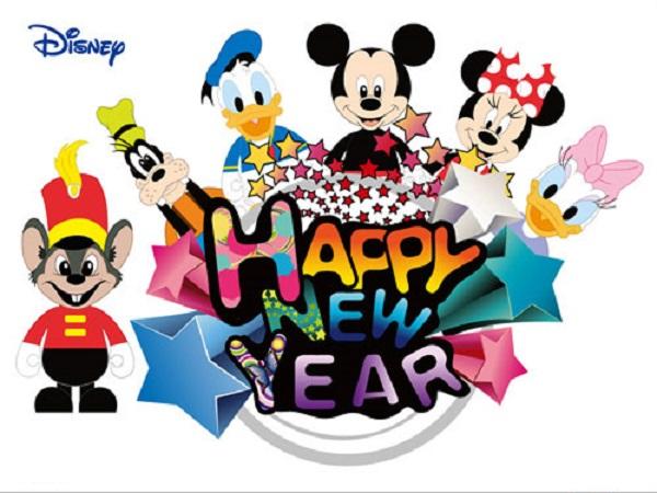 600x450 Disney New Year Clip Art Disney Happy New Year Clipart 6