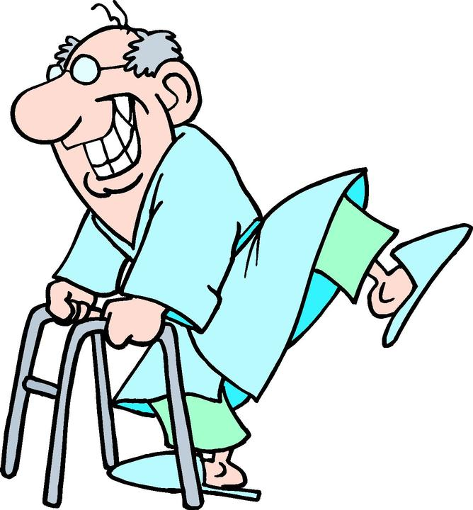 668x720 Happy Old Person Clipart