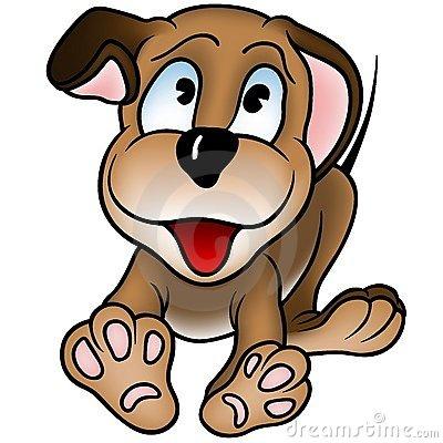 400x400 Puppy Clipart Happy Puppy