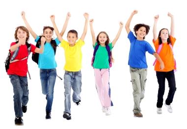 381x263 Happy Students Clipart 2110284