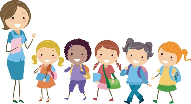 733x400 Happy Students In Classroom Clipart