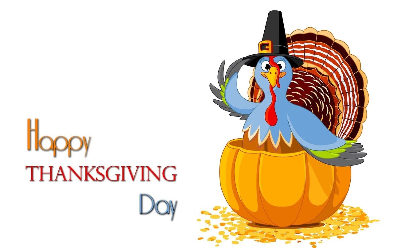 Happy Thanksgiving Banner Clipart