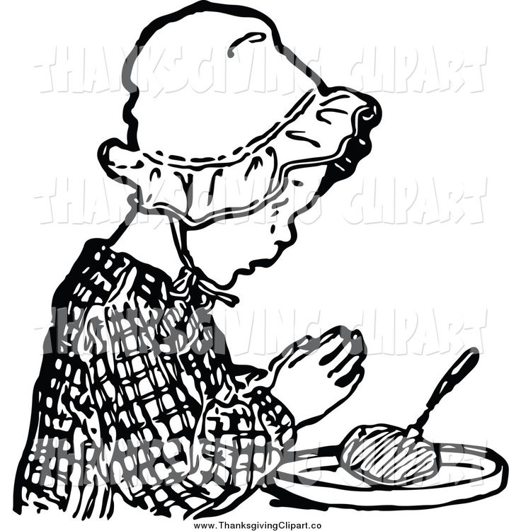 736x750 Thanksgiving Food Clip Art In Black And White Happy Thanksgiving