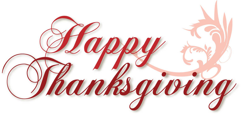 1000x500 Happy Thanksgiving Clip Art Images Happy Holidays