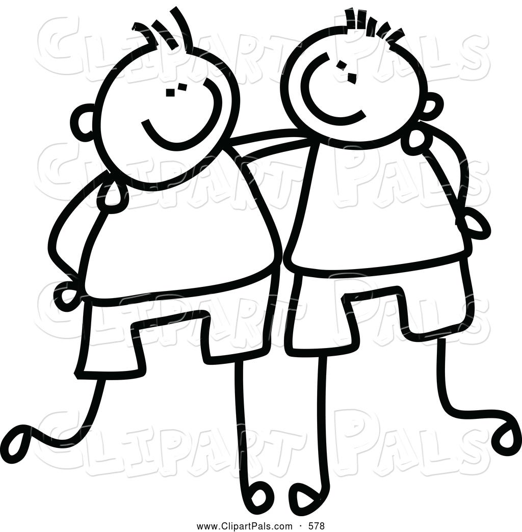 1024x1044 Happy Friendship Day Clip Art Black And White