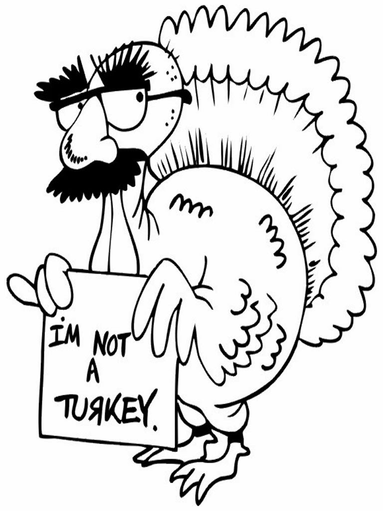 768x1024 Thanksgiving Coloring Pages