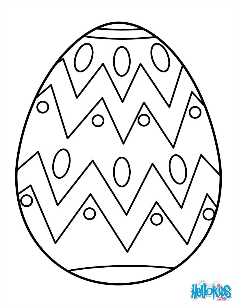 820x1060 Coloring Page. Coloring Pages Easter Eggs