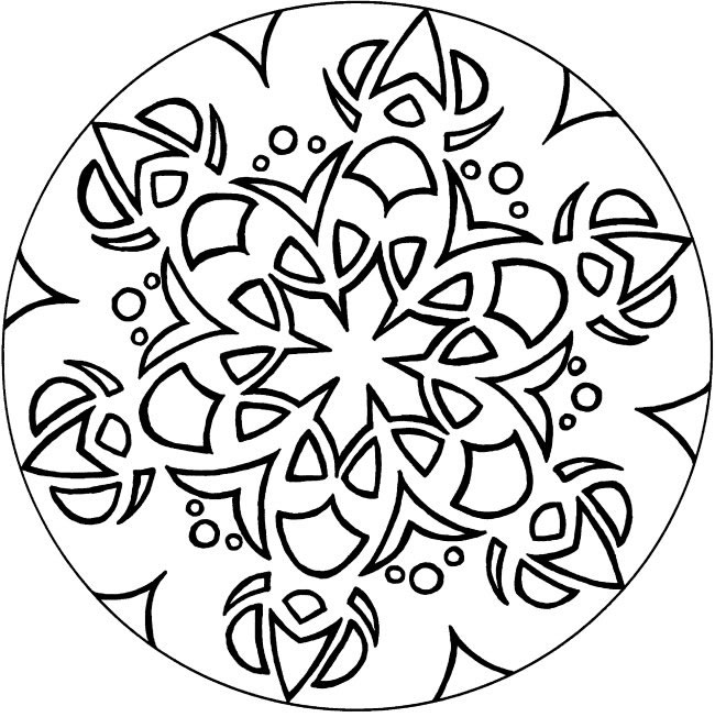 650x652 Hard Coloring Pages