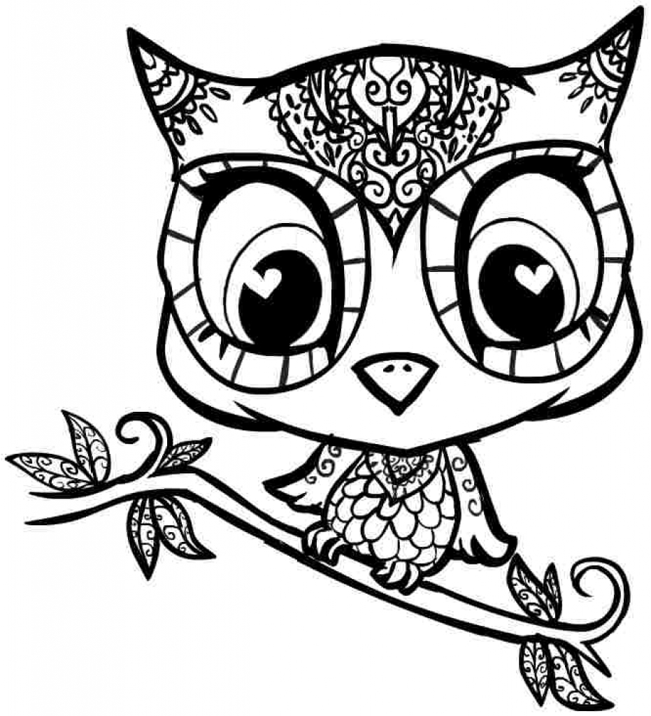 Complex Coloring Pages for 10- to 12-Year-Old Girls. Print Them ... | 1024x931