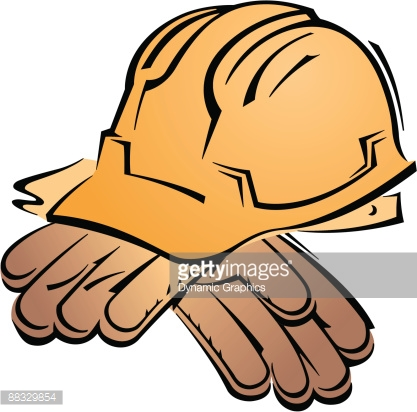 417x412 Glove Clipart Work Glove