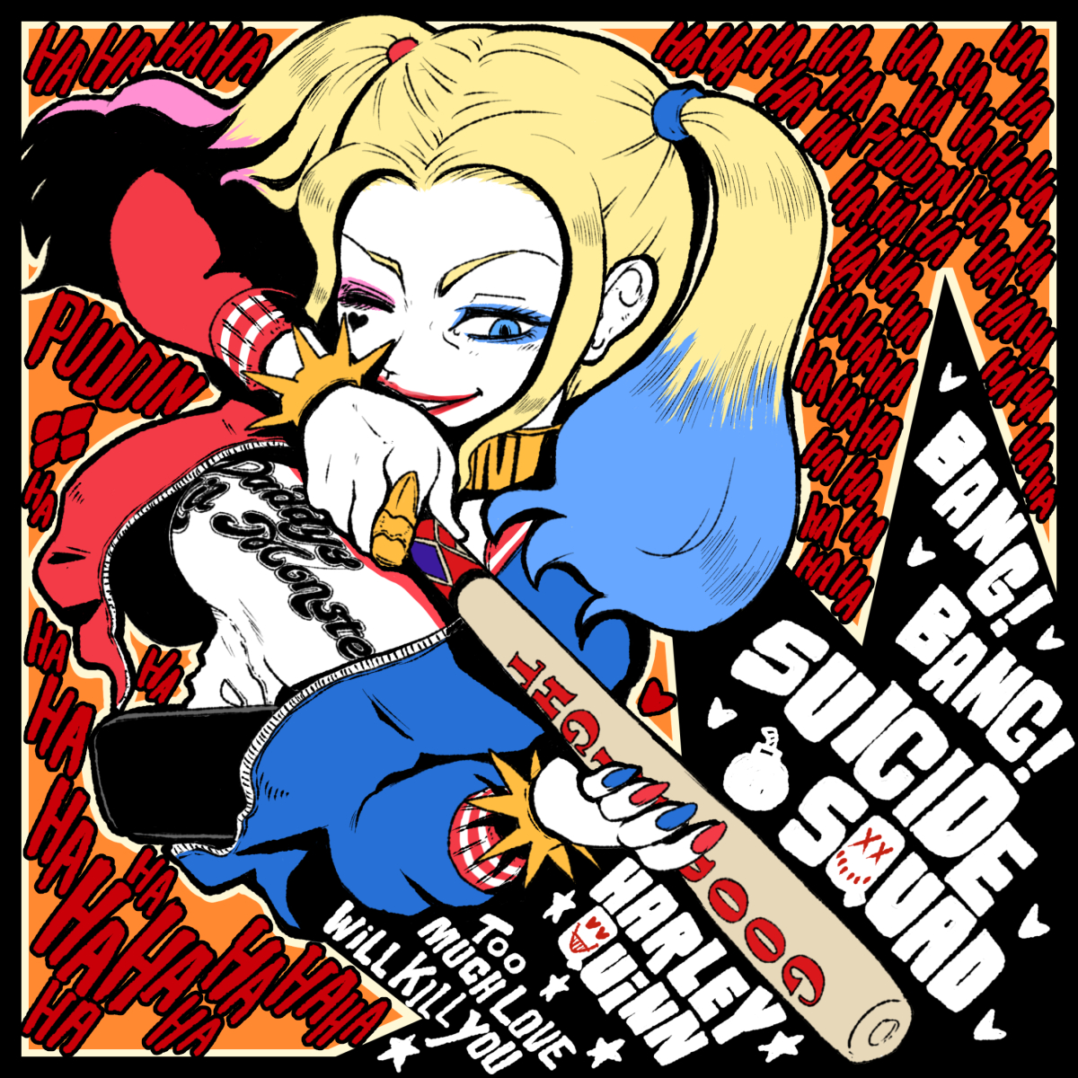 1200x1200 Oh, Harley, Harley Favourites By Ricken Art