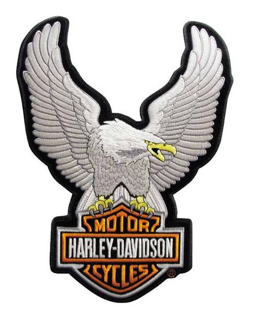 500x633 Harley Davidson Decals And Patches For Jackets, Vests And Cars