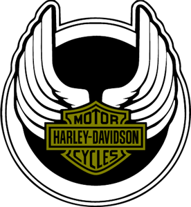 276x300 Harley Davidson Wings Logo Vector (.eps) Free Download