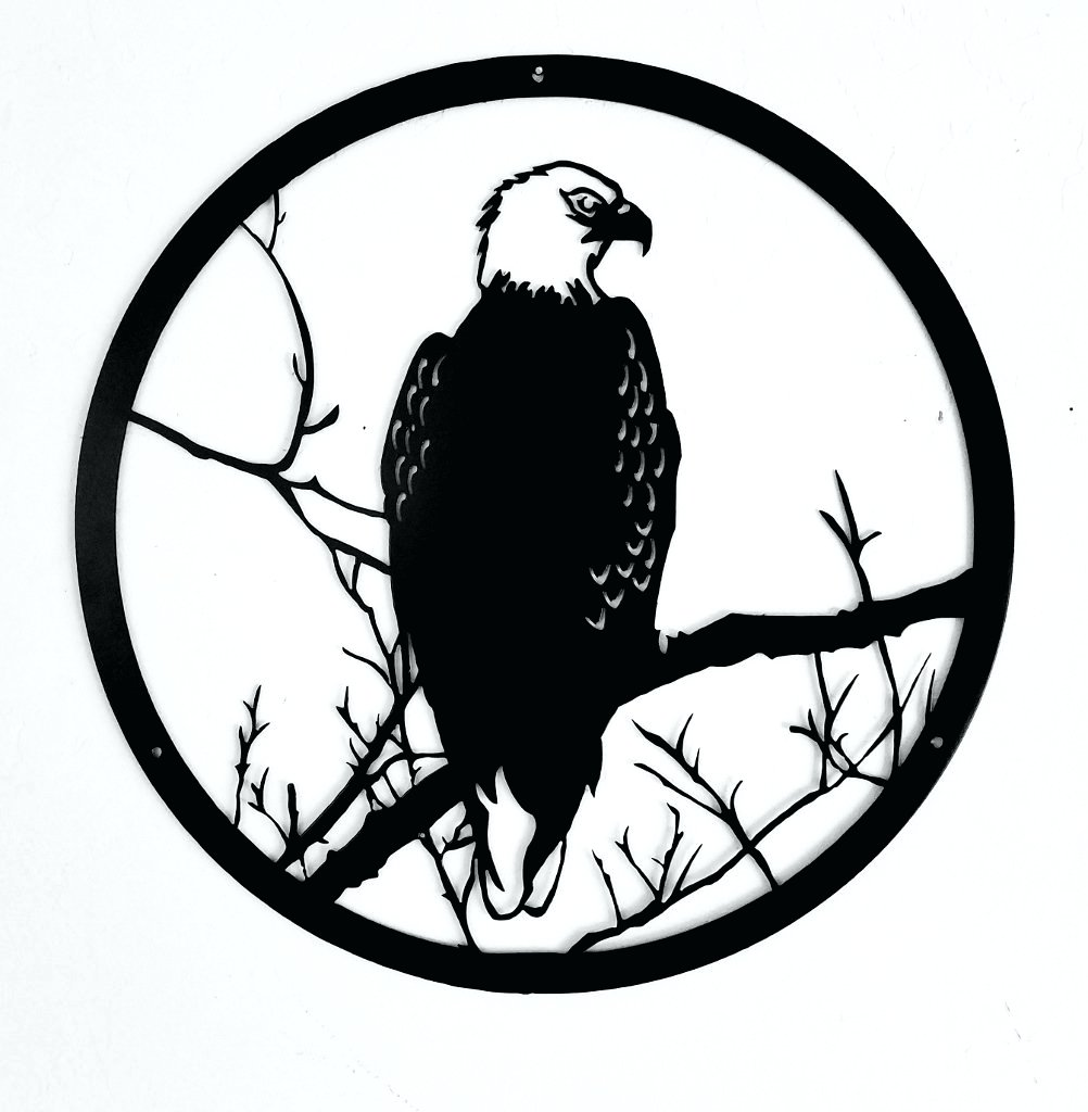 1002x1024 Wall Arts ~ Wood Eagle Wall Art American Eagle Metal Wall Art