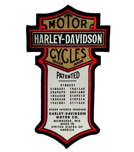 450x510 Motorcycle Manufacturer Patches Amp Logo's Honda Patches, Harley