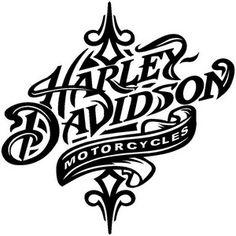 236x236 Sticker Harley Davidson Logo Silhouette Skull Harley Davidson