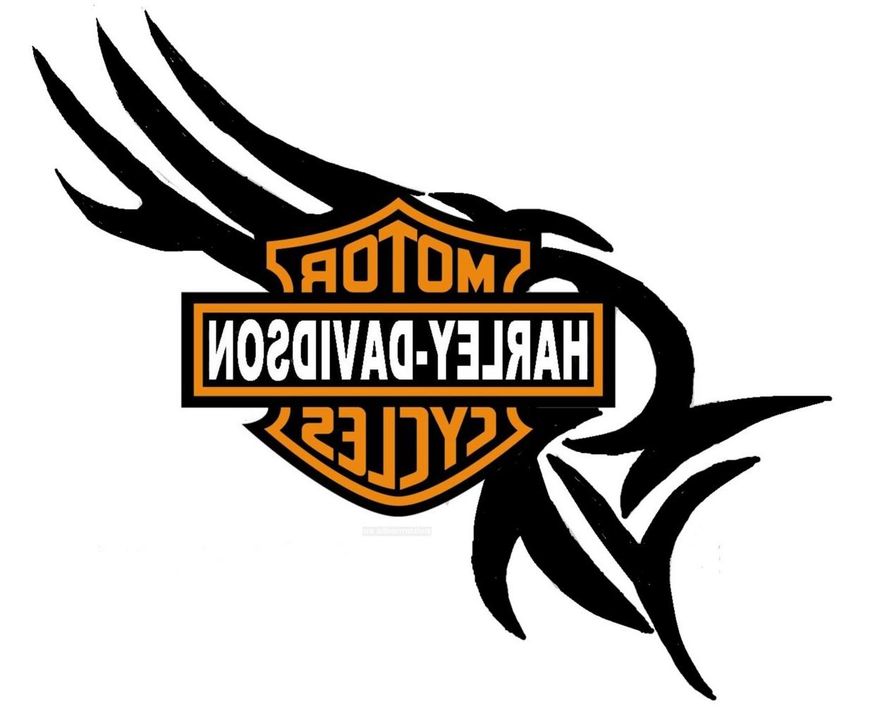 1268x1024 Harley Davidson Logo Tattoo Harley Davidson Bike Symbol Tattoo