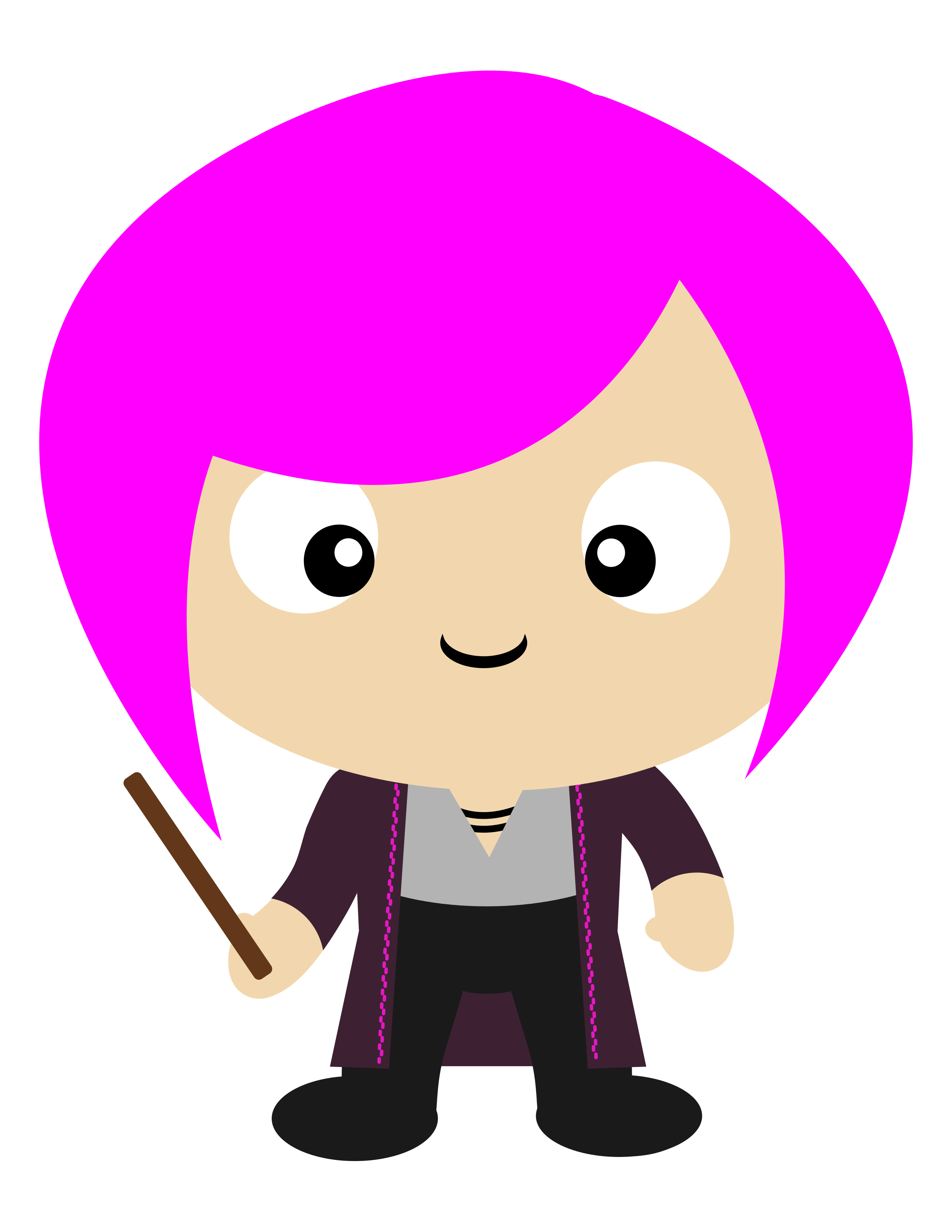 2550x3300 Nymphadora Tonks, The Pink Form. One Of The Best Characters