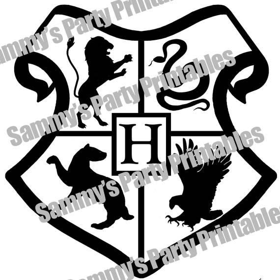 570x570 Harry Potter Hogwarts Crest
