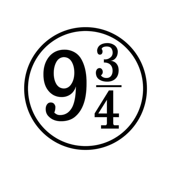 690x690 Harry Potter Platform 9 And 34 Graphics By Vectordesign On Zibbet