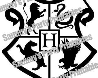 340x270 Harry Potter Crest Etsy