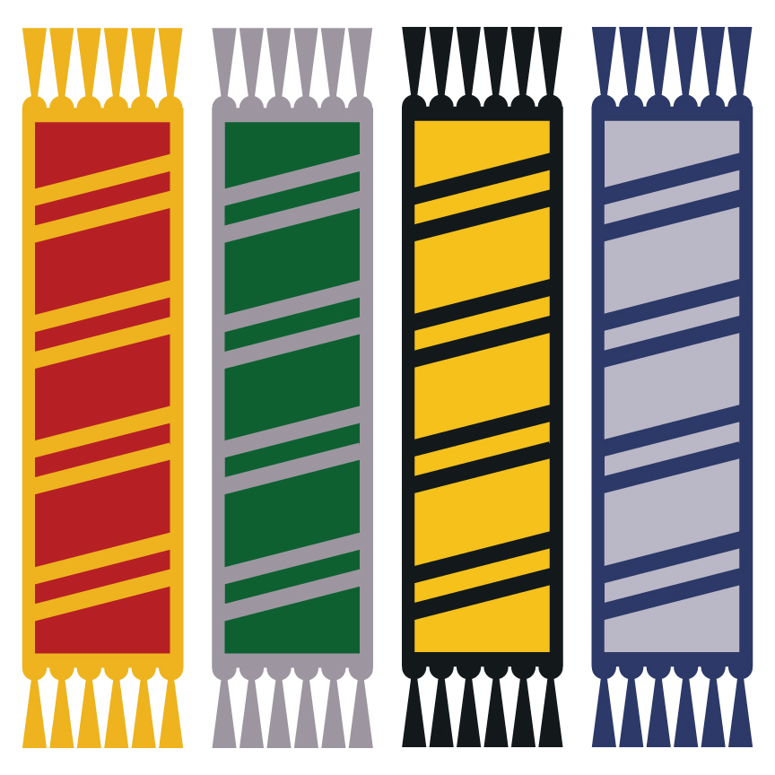 864x864 Harry Potter Bookmarks
