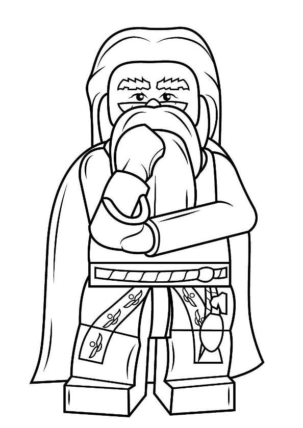 594x840 Kids N 8 Coloring Pages Of Lego Harry Potter