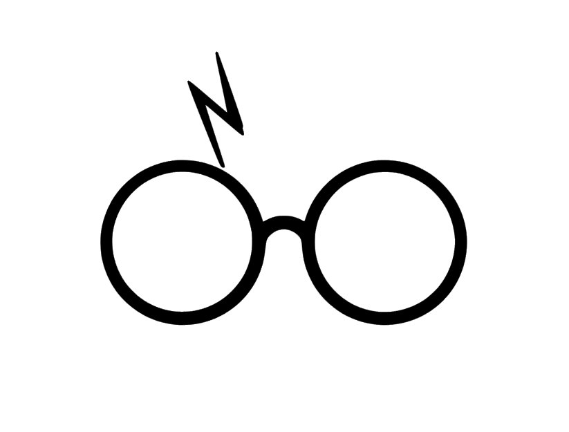 823x625 Harry Potter Decal Harry Potter Harry Potter Glasses