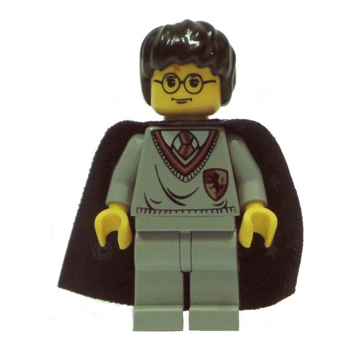 700x700 Lego Yellow Harry Potter Standard Head With Glasses And Red