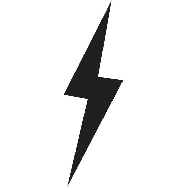 728x728 Scar Clipart Lightning Bolt